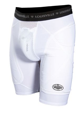 BRONZE SHIELD ADULT SLIDING SHORTS WITH CUP picture