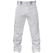 STOCK  PANT WITH  PIPING SENIOR WHITE