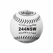 PACK OF 12 - SOFTBALL 12'' NSA SYNTHETIC WHITE