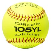 "PACK OF 12 - SOFTBALL 12"""" YELLOW"