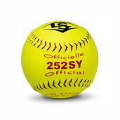 "PACK OF 12 - SYNTHETIC SOFTBALL 12"" YELLOW"