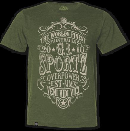 GI T-Shirt Carnival Green - Medium picture