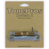 VTNA - TonePros Vintage Style Aluminum Wraparound Tailpiece w/SS1 Locking Studs