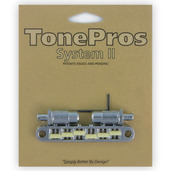 "TPFG - TonePros Metric Tuneomatic (large posts, notched ""G Formula"" saddles)"