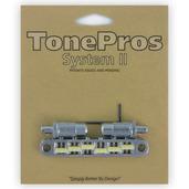 """TPFG - TonePros Metric Tuneomatic (large posts, notched """"G Formula"""" saddles)"""