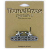 T3BP - TonePros Standard Tuneomatic (small posts, notched saddles)
