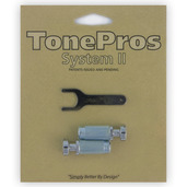 "VS1 - TonePros Standard Locking Studs Vintage ""Steel"""