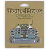 LPM04 - TonePros Standard Tuneomatic/Tailpiece set (small posts/notched saddles)