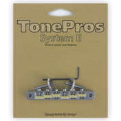 "AVR2G - TonePros Replacement ABR-1 Tuneomatic with ""G Formula"" saddles"