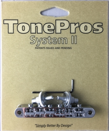 NVR2P - TonePros AVR2P with Standard Nashville Post Tuneomatic (notched saddles) picture