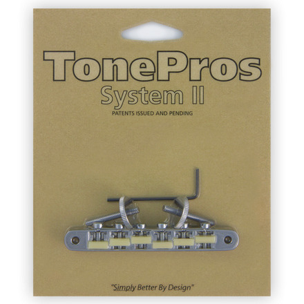 "AVR2G - TonePros Replacement ABR-1 Tuneomatic with ""G Formula"" saddles picture"