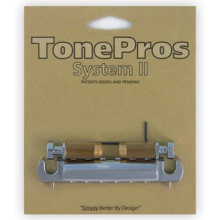 VTNA - TonePros Vintage Style Aluminum Wraparound Tailpiece w/SS1 Locking Studs picture