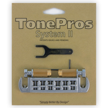 AVT2G - TonePros Wraparound Set w/SS1 Locking Studs for Gibson® picture