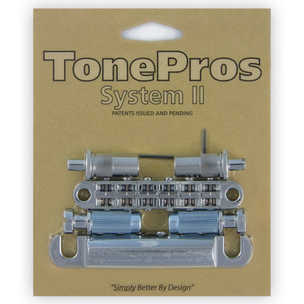 LPM02 - TonePros Metric Tuneomatic/Tailpiece set (large posts) picture