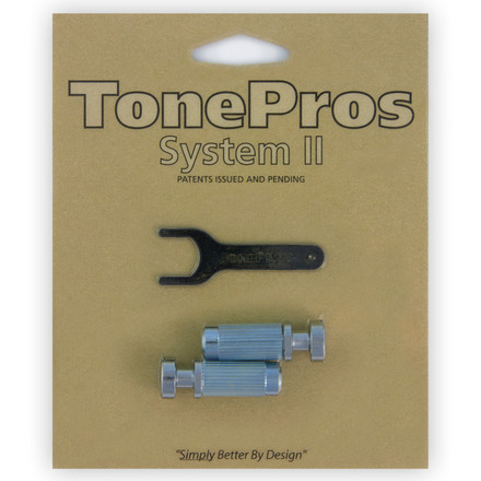 "VM1 - TonePros Metric Locking Studs Vintage ""Steel"" picture"