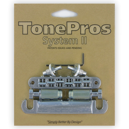 LPS02 - TonePros Standard Tuneomatic/Tailpiece set (small posts) picture