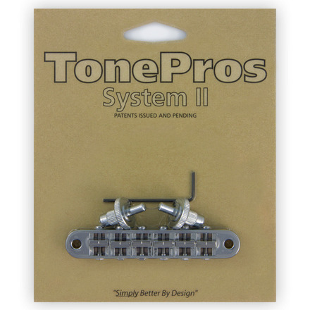 T3BP - TonePros Standard Tuneomatic (small posts, notched saddles) picture