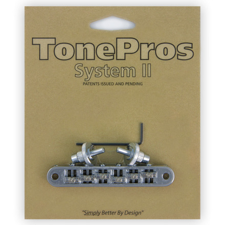 "TP6R - TonePros Standard Tuneomatic (small posts, ""Roller"" saddles) picture"
