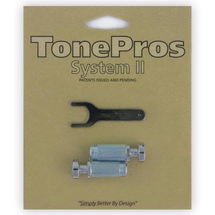 "VS1 - TonePros Standard Locking Studs Vintage ""Steel"" picture"
