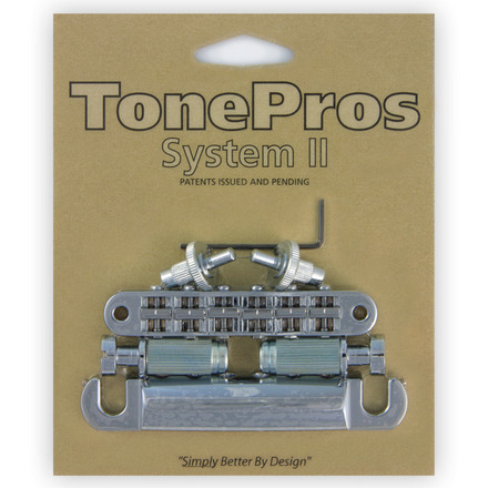 LPM04 - TonePros Standard Tuneomatic/Tailpiece set (small posts/notched saddles) picture