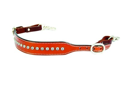 Chestnut w/ Sun Spots Wither Strap picture