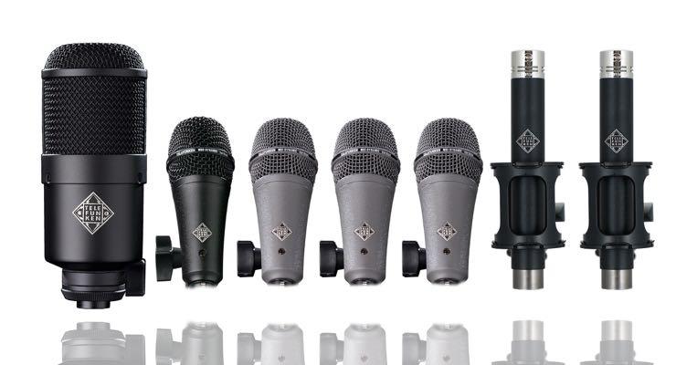 Microphones Drum Mic Packs Telefunken Elektroakustik