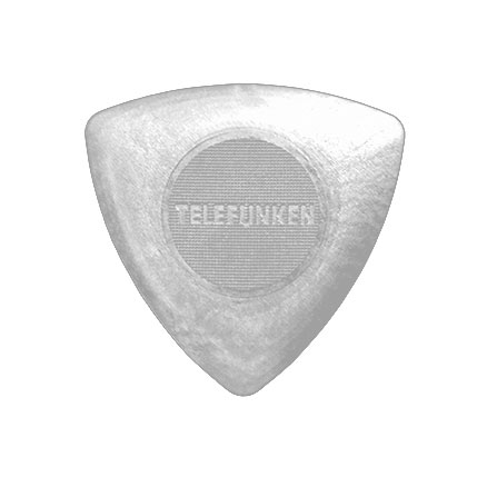 1.6mm TRIANGLE Guitar Picks (6 pack DELRIN picture