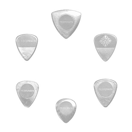 VARIETY MIX PACK Guitar Picks (6 pack) DELRIN picture
