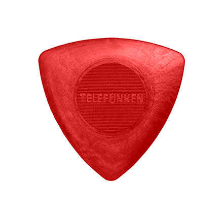 1.6mm TRIANGLE Guitar Picks (6 pack) NYLON picture
