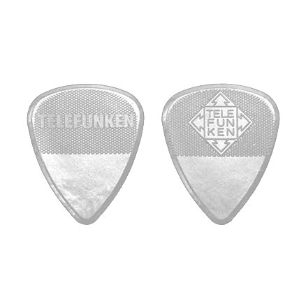 2mm Thick Diamond Guitar Picks (6 pack) DELRIN picture