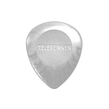 3mm Bass Circle Guitar Picks (6 pack) DELRIN picture