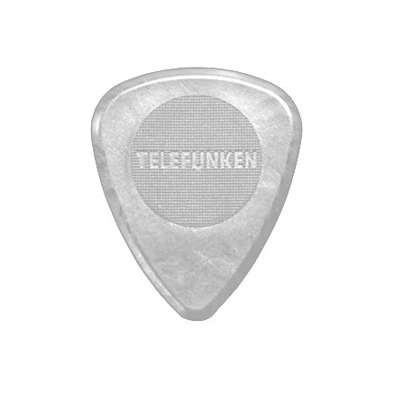 2mm Thick Circle Guitar Picks (6 pack) DELRIN picture
