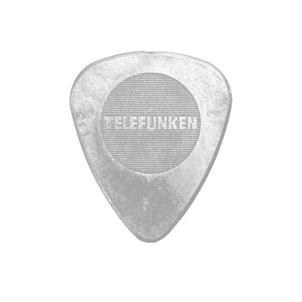 .75mm Thin Circle Guitar Picks (6 pack) DELRIN picture