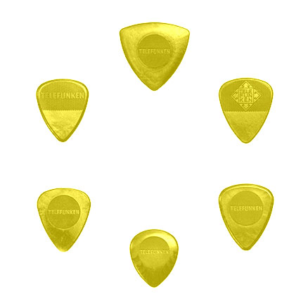 VARIETY MIX PACK Guitar Picks (6 pack) POLY picture