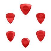 VARIETY MIX PACK Guitar Picks (6 pack) NYLON