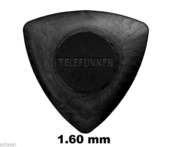 1.6mm TRIANGLE Guitar Picks (6 pack)