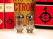 National 12AT7WA vacuum tube (AR-51 & AR-70 STEREO)