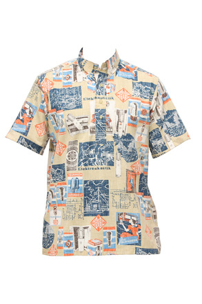 Aloha Pull Over Tan picture
