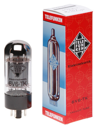 6V6-TK vacuum tube picture