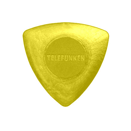 1.6mm TRIANGLE Guitar Picks (6 pack) picture