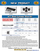 H.T. Steel Cylinder Stud Kit Flyer for Yamaha® Various 450's 2006-2020