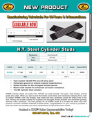 H.T. Steel Stud flyer for HD® Milwaukee-Eight™ 2017-2021