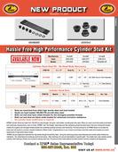 H.T. Steel, Std. OEM Dia. Cylinder Stud Kit Flyer for Honda® Various 450's Applications