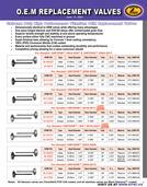 KPMI® OEM Replacement Valve Flyer