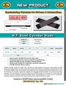 H.T. Steel Stud flyer for HD® Milwaukee-Eight™ 2017-2020