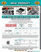 H.T. Steel Rocker Arm Tower Stud Kit flyer for HD® Milwaukee-Eight™ 2017-2020