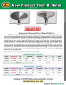 KPMI® Tech Bulletin - Superseded Kawasaki® KX250F™ 2004-'16 and Suzuki® RX-Z250™ 2004-'06 Valves