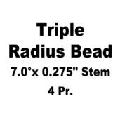 "Keeper, HT Steel, 0.275"" Stem x 7.0°, Various HD® Applications (4Pr.)"