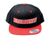Pro Hat, Black and Red, Snapback