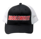 Trucker Hat, Black and White, Snapback
